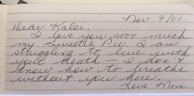 March 16 2017 Blog Nov 7 2001 letter